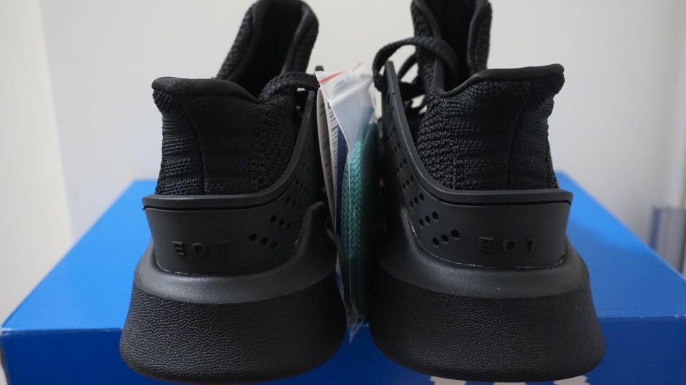 online store 00b5b bdb93 Adidas EQT Bask Adv triple black, Men's Fashion, Footwear ...