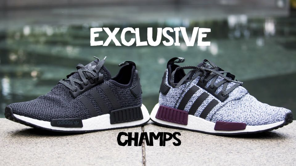 388062cf33588 Adidas NMD Champs Exclusive Black Reflective