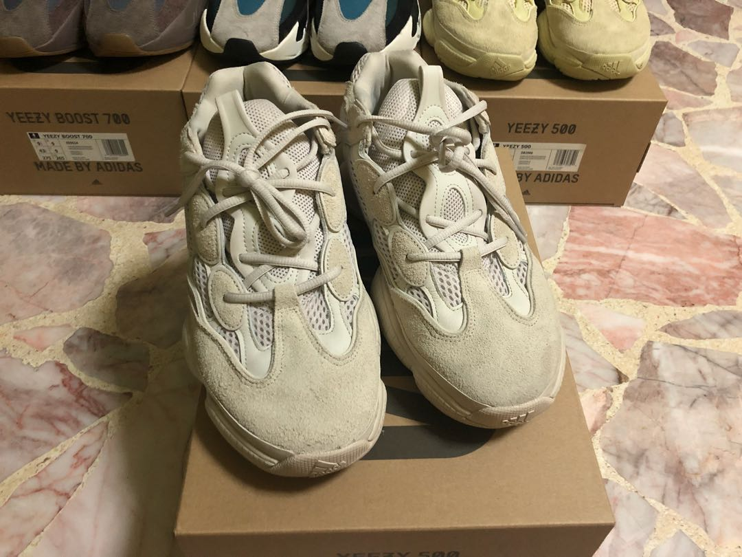 f88bea7e6 Adidas Yeezy 500 Blush 100 AUTHENTIC SIZE 6 fashion