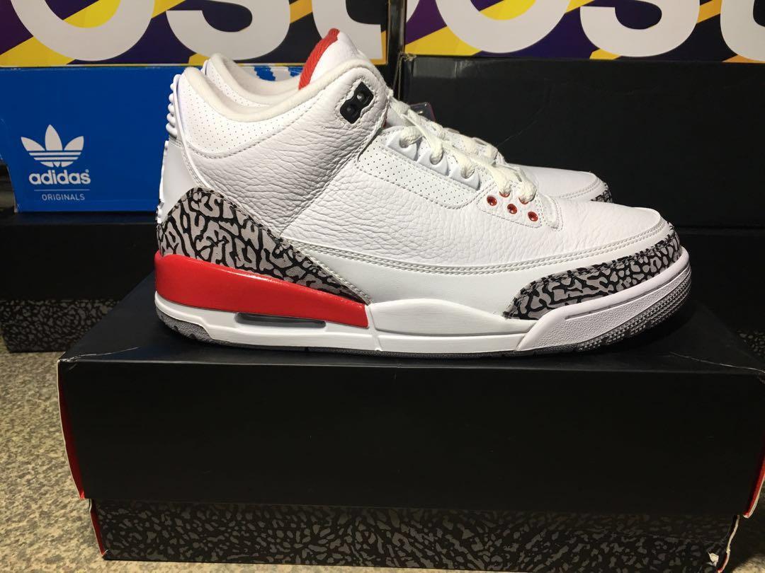 promo code 3e743 1f23f Air Jordan 3 Retro Hall of Fame AKA Katrina, Men s Fashion, Footwear,  Sneakers on Carousell
