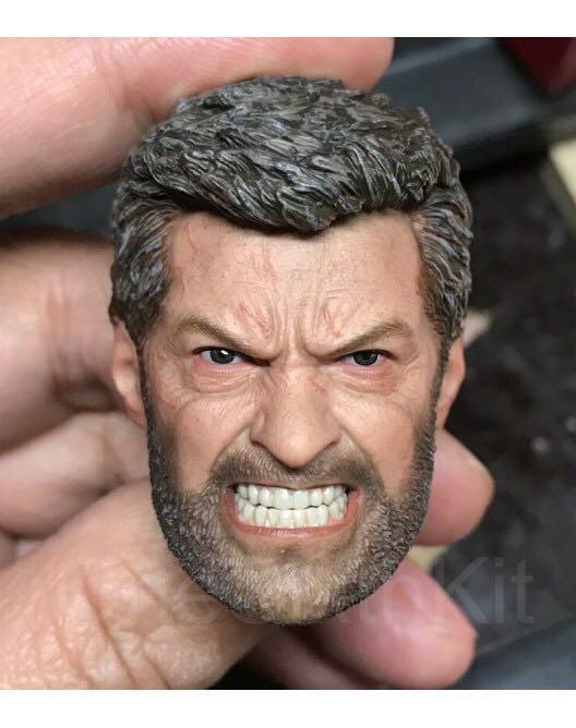Angry Old Man Logan Head Sculpt 1 6th Scale By Eleven Toys