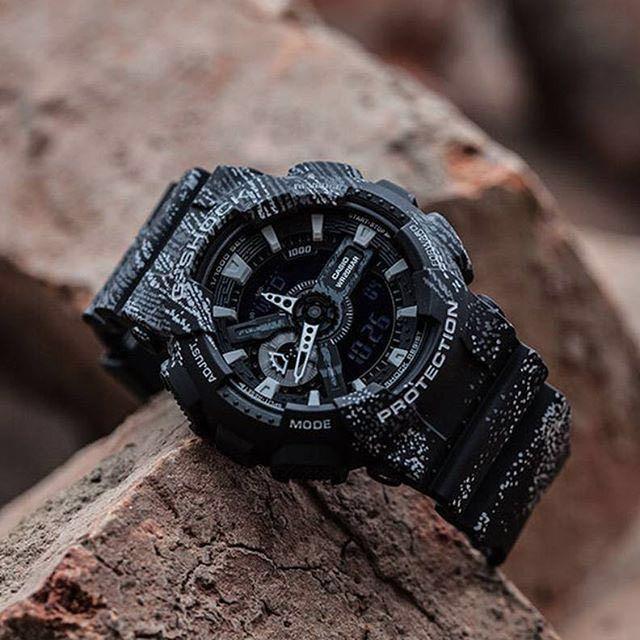 6ff37a6355ca Authentic Brand New Casio G-Shock GA-110TX-1A Men s Black Watch GA110TX  GA110 GA-110TX-1 GA-110TX on Carousell