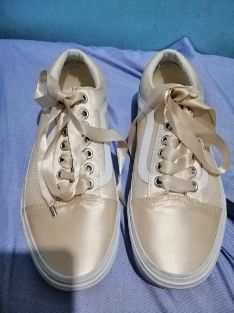 Authentic Vans Satin Lux Old skool 6add5c2da