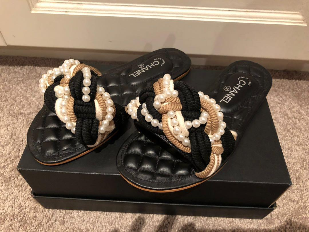 Chanel sandal shoes