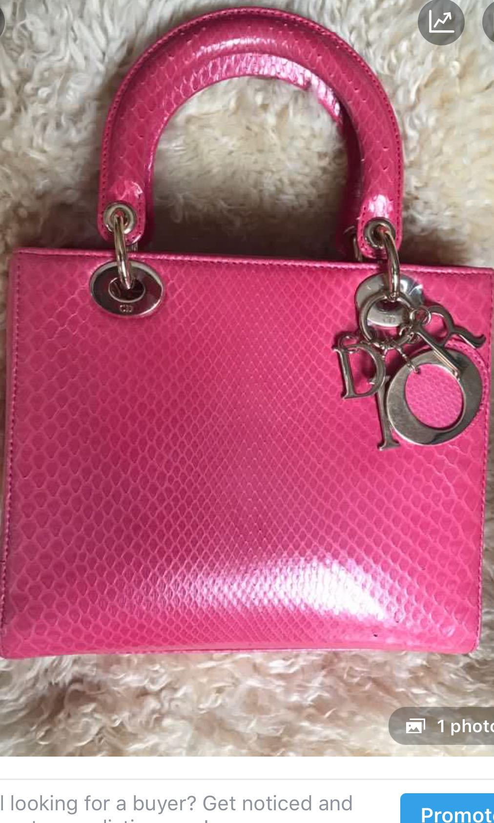 69b09d2d3f9 Christian Dior Pink Lady Dior bag at $5K only, Luxury, Bags ...