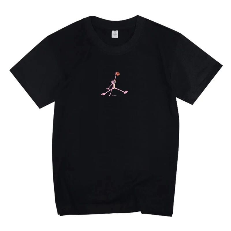 5744b7730d01 Cotton T-shirts Pink Panther Jordan graphic tee