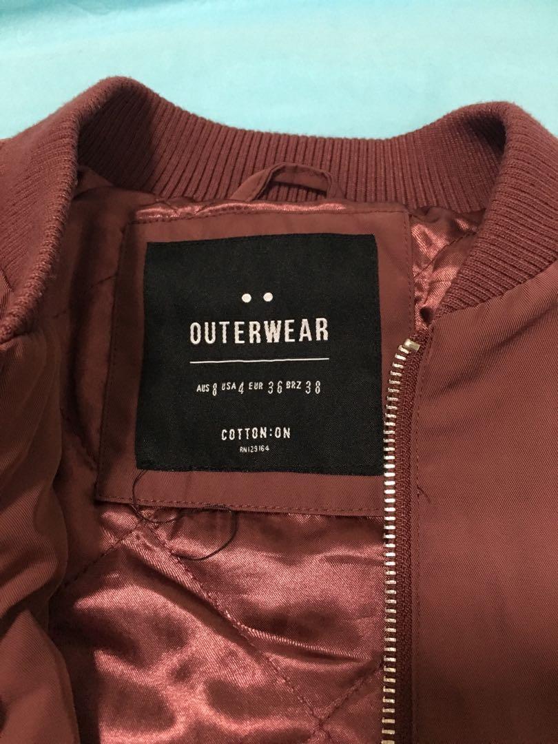 Cotton-on Bomber Jacket