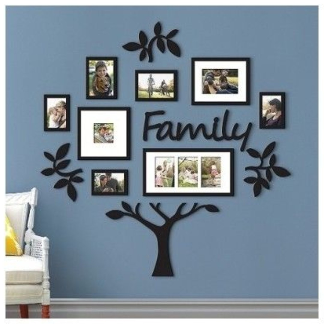 Family Tree Photo Frame Set 13 Pieces Design Craft Others On