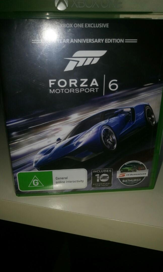 Forza - motorsport 6 on xbox one
