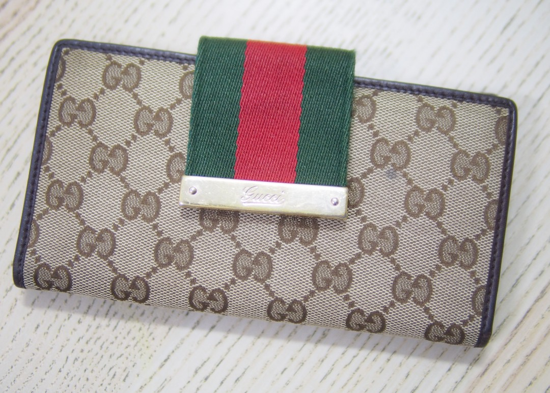 62d8ffdf98d5 Genuine Gucci Wallet, Luxury, Bags & Wallets, Wallets on Carousell