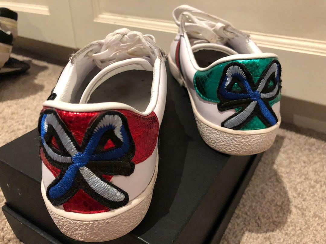 Gucci floral sneaker