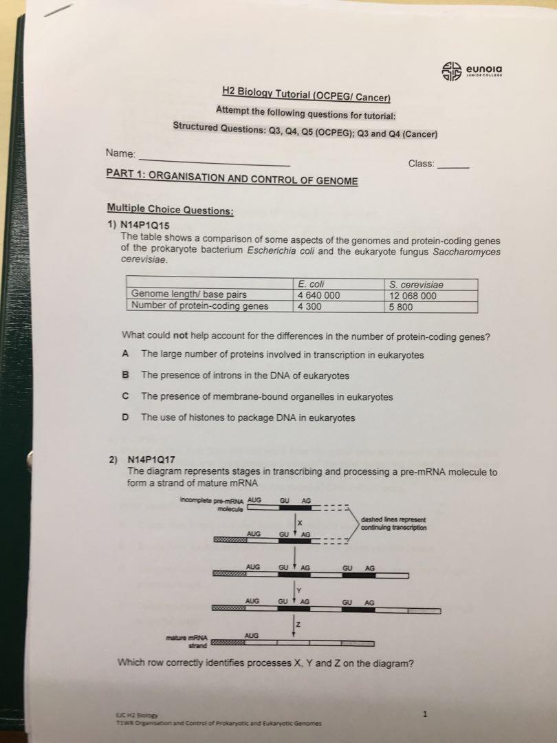 Biology Notes Form 1