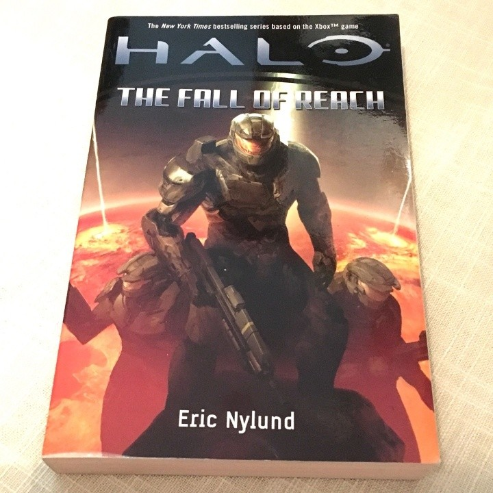 Halo The Fall Of Reach Book By Eric Nylund Books Books On Carousell