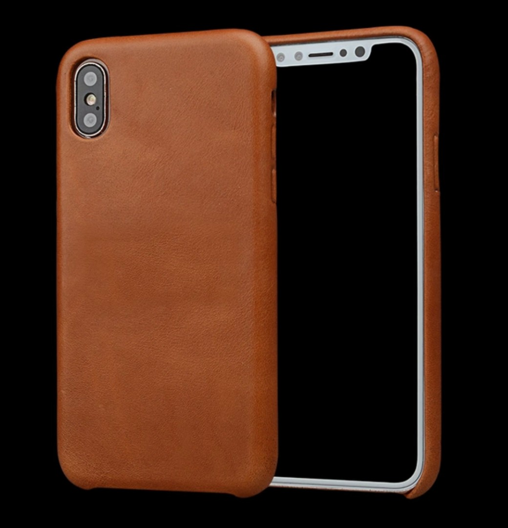 new arrival ae9bb f876d Iphone XS Max Genuine Leather Case, Mobile Phones & Tablets, Mobile ...