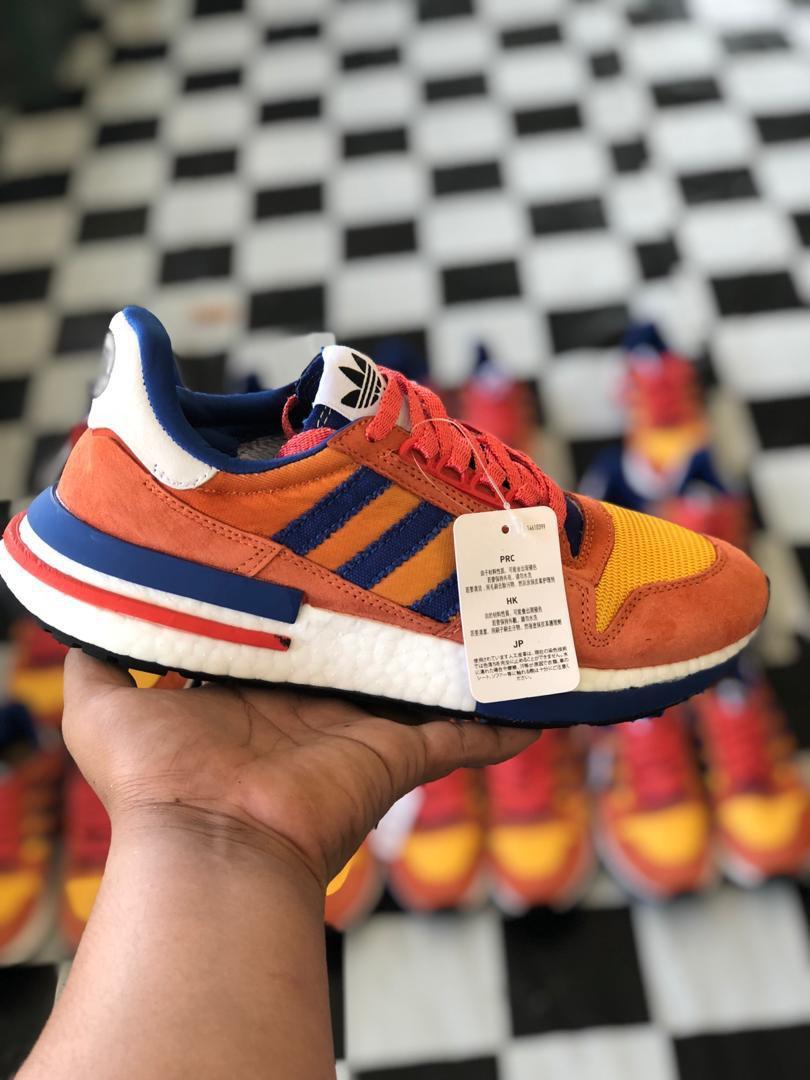 Kasut Adidas Dragon Ball Goku Edition