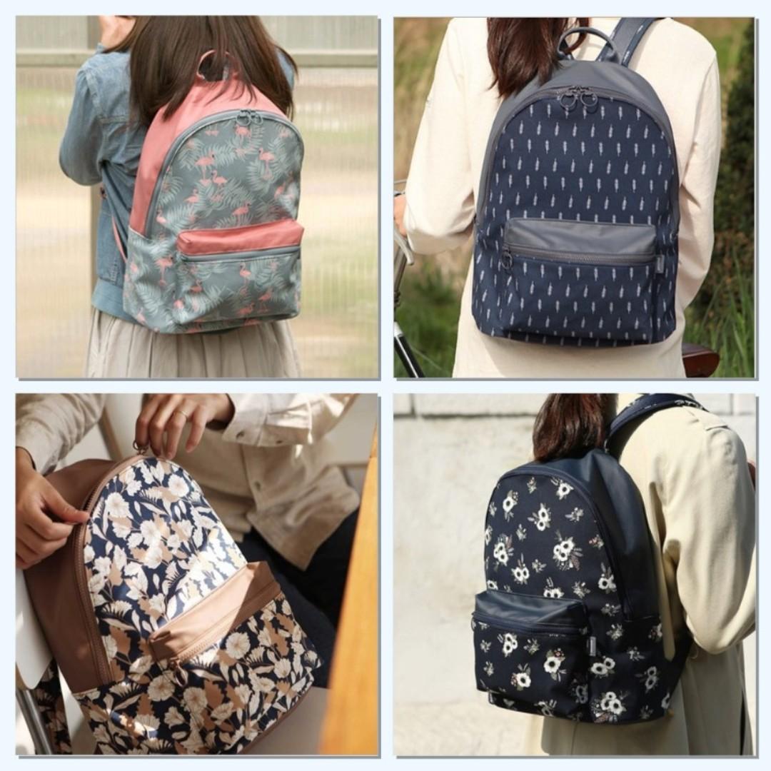 cfe9683eed Korean style design backpack  haversack  bag (Flamingo