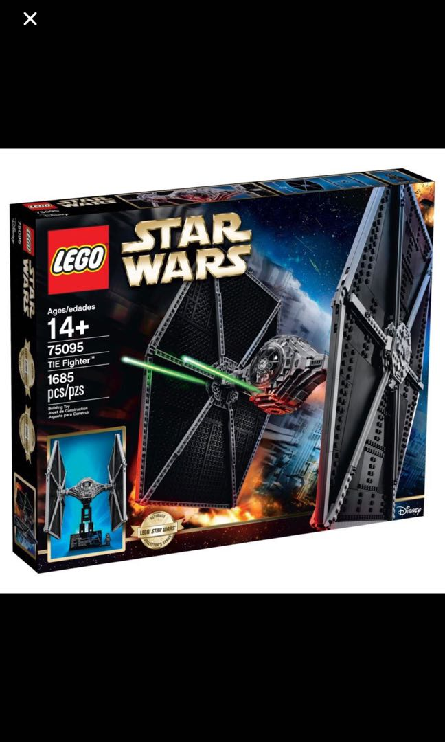 LEGO 75095 UCS STAR WARS TIE FIGHTER NEW SEALED, Toys & Games, Bricks & Figurines on Carousell