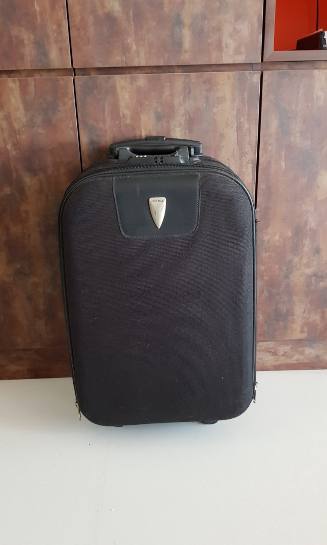1fa12777bf07 Like new Polo Club black luggage - carry-on luggage