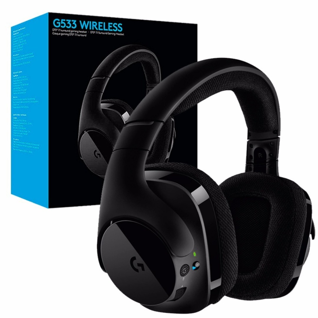 4eb40eb8d47 Logitech G533 WIRELESS 7.1 SURROUND GAMING HEADSET, Toys & Games, Video  Gaming, Gaming Accessories on Carousell