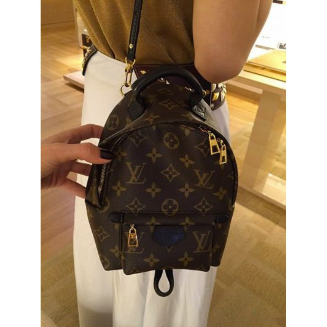 Louis Vuitton Palm Springs Mini Backpack   Cross Body   Sling Bag ... 28e22d416abf8