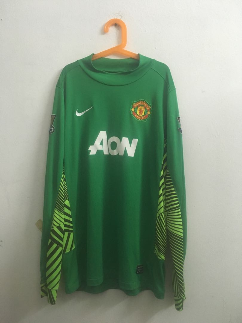 the best attitude 1300f 6ef2b Manchester United GK jersey