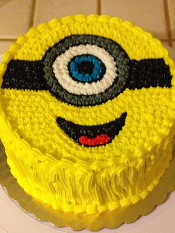 Minion Character Cakes Special Designs Birthday Cake Food Drinks