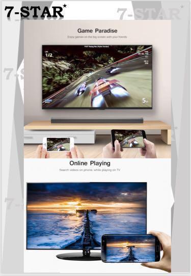 MiraScreen G4 Wireless WiFi Display Dongle Receiver 1080P HD