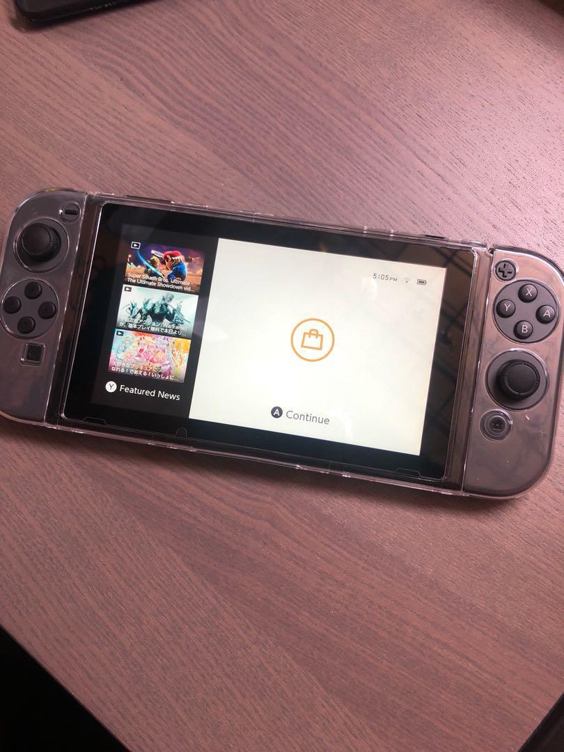 Nintendo Switch 水晶殼