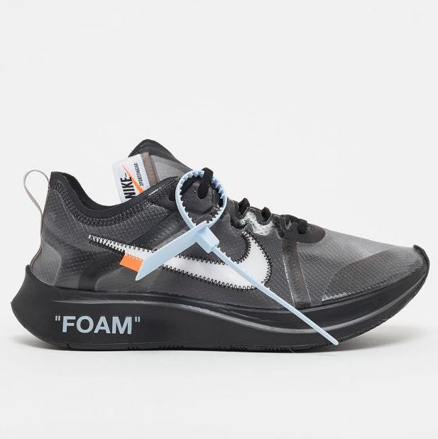new style 5bce3 81364 Off-White™ x Nike zoom fly, Men's Fashion, Footwear, Sneakers on ...