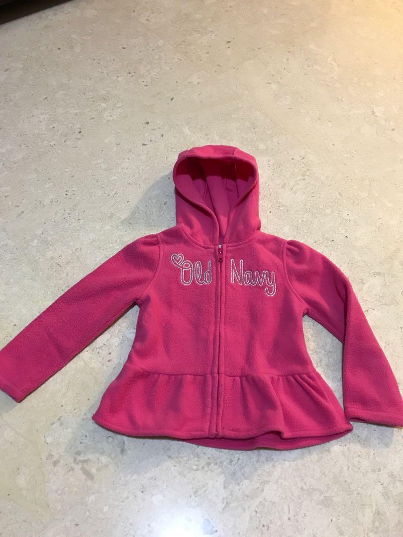 eb5d3a4e1 Old Navy Girl winter fleece jacket. Size 3T