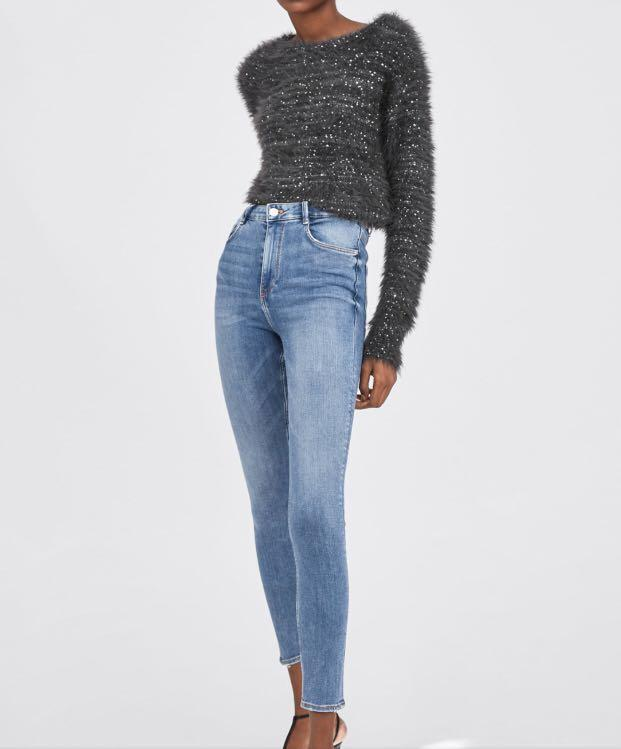 25582f5f pending) zara premium high rise waisted skinny sculpt jeans, Women's ...