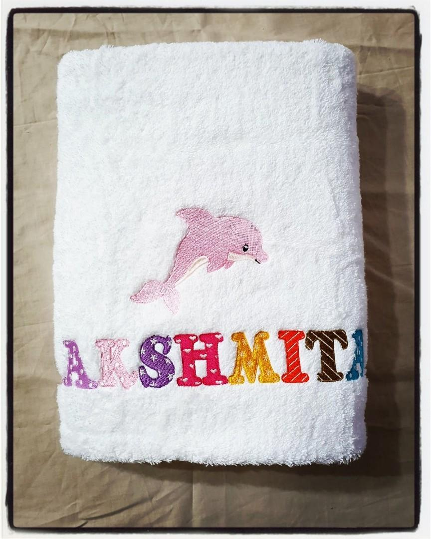 Personalised Sheep Embroidered Towels Sheep 11