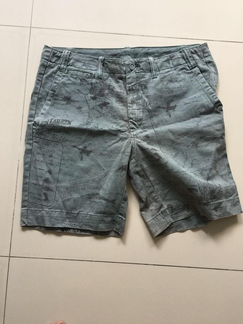 size 40 580c3 c8ace Polo Ralph Lauren Washed Hunting Ducks Shorts Bermuda, Men's ...