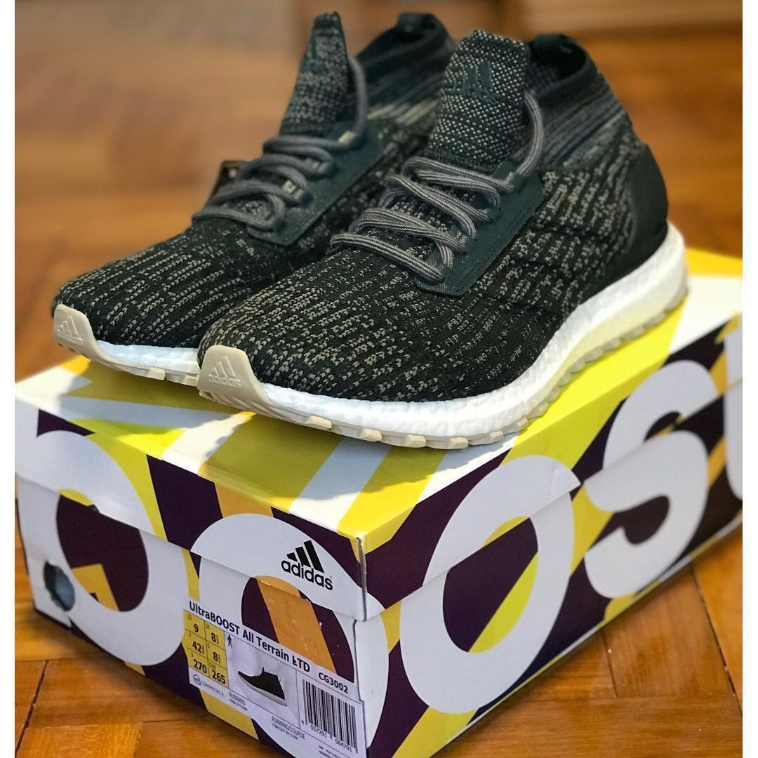 huge selection of e4018 19c03 🔥Price reduced🔥Adidas ULTRABOOST ALL TERRAIN LTD, Mens Fashion,  Footwear, Sneakers on Carousell