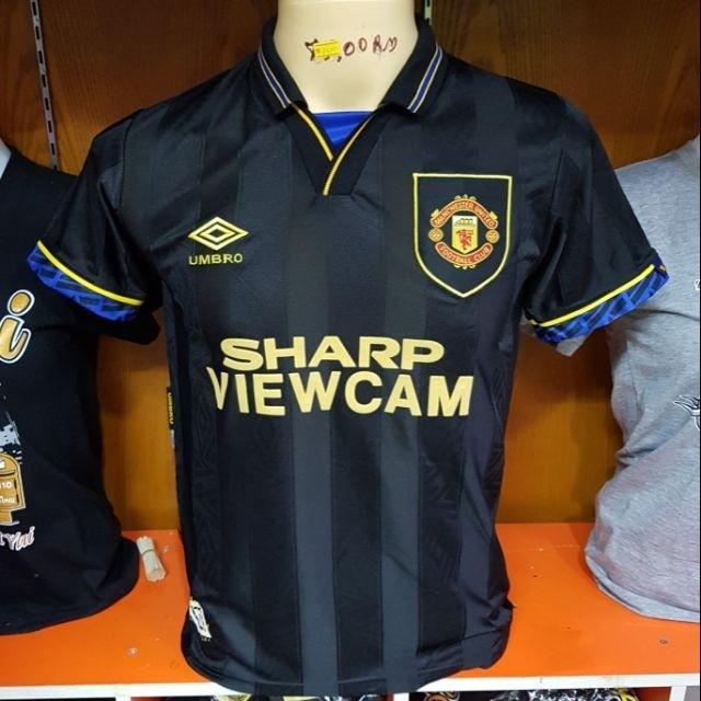 f5311a96d Retro Manchester United 92 - 94 Umbro Sharp viewcam jersey