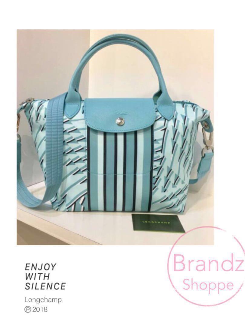🐎SALE! Original Longchamp Le Pliage NEO Pastel Top Handle Shoulder ... c38ff47e42381