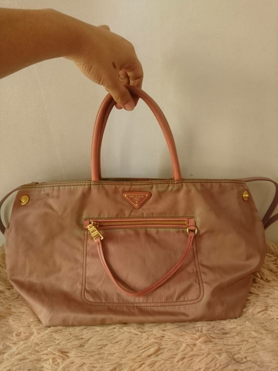 1cfd2dd94e4e Selling authentic prada tessuto tote