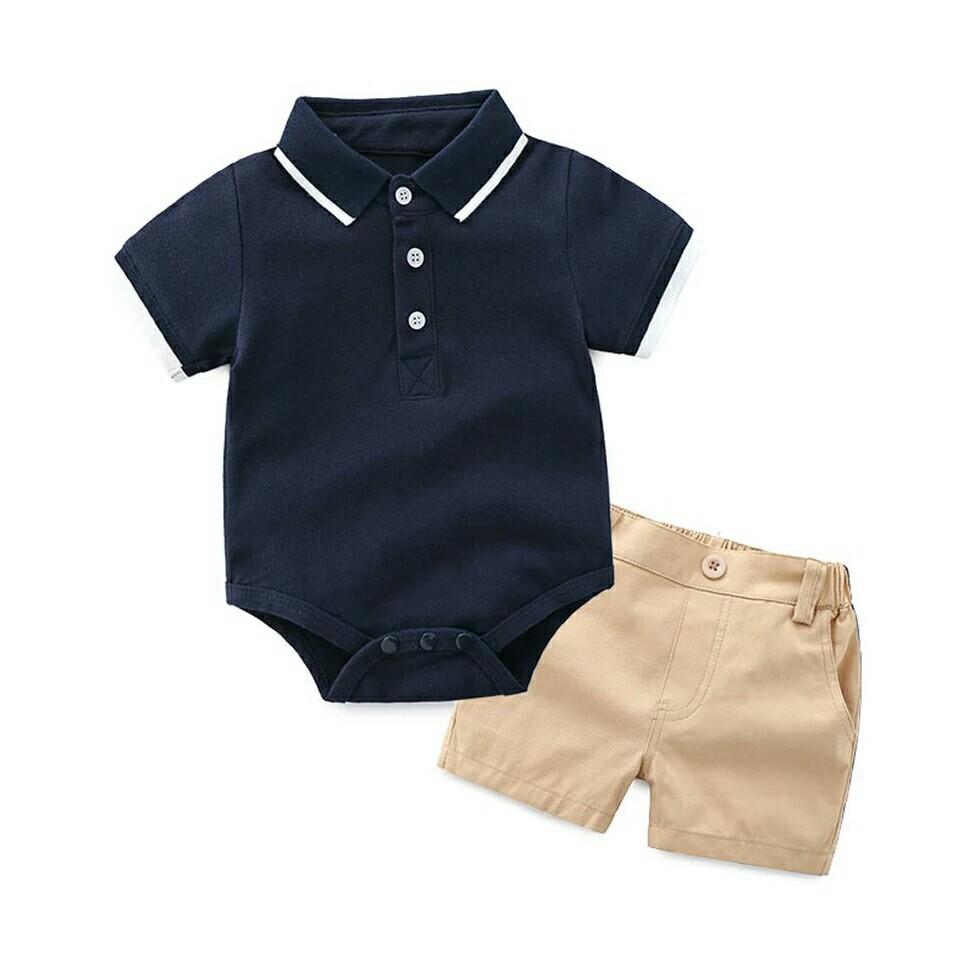 04654945bd5 Set kids suits baby boys clothes Newborn wedding birthday gentleman ...