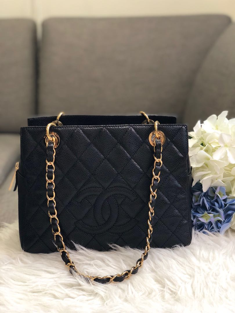 941d41b85021 ❌SOLD!❌ Super rare!🖤 Very Good Condition Chanel PTT in black ...
