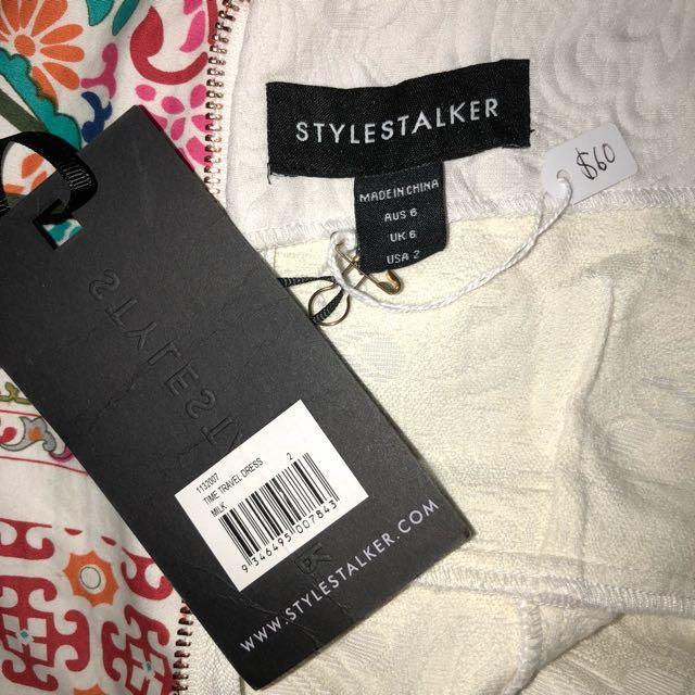 Stylestalker Brand New never worn cream dress.