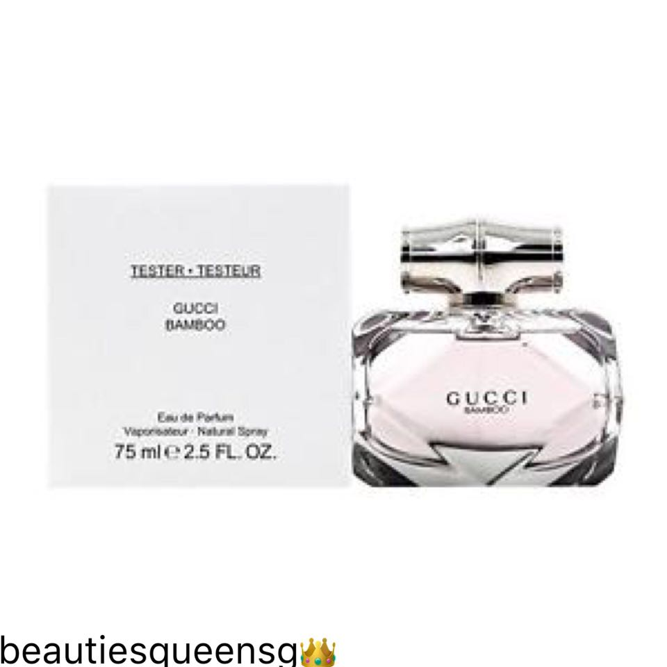 Tester Gucci Bamboo 75ml Edp For Women Health Beauty Perfumes
