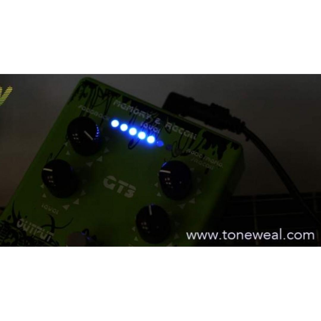 Toneweal guitar effect pedal GT3 - Delay