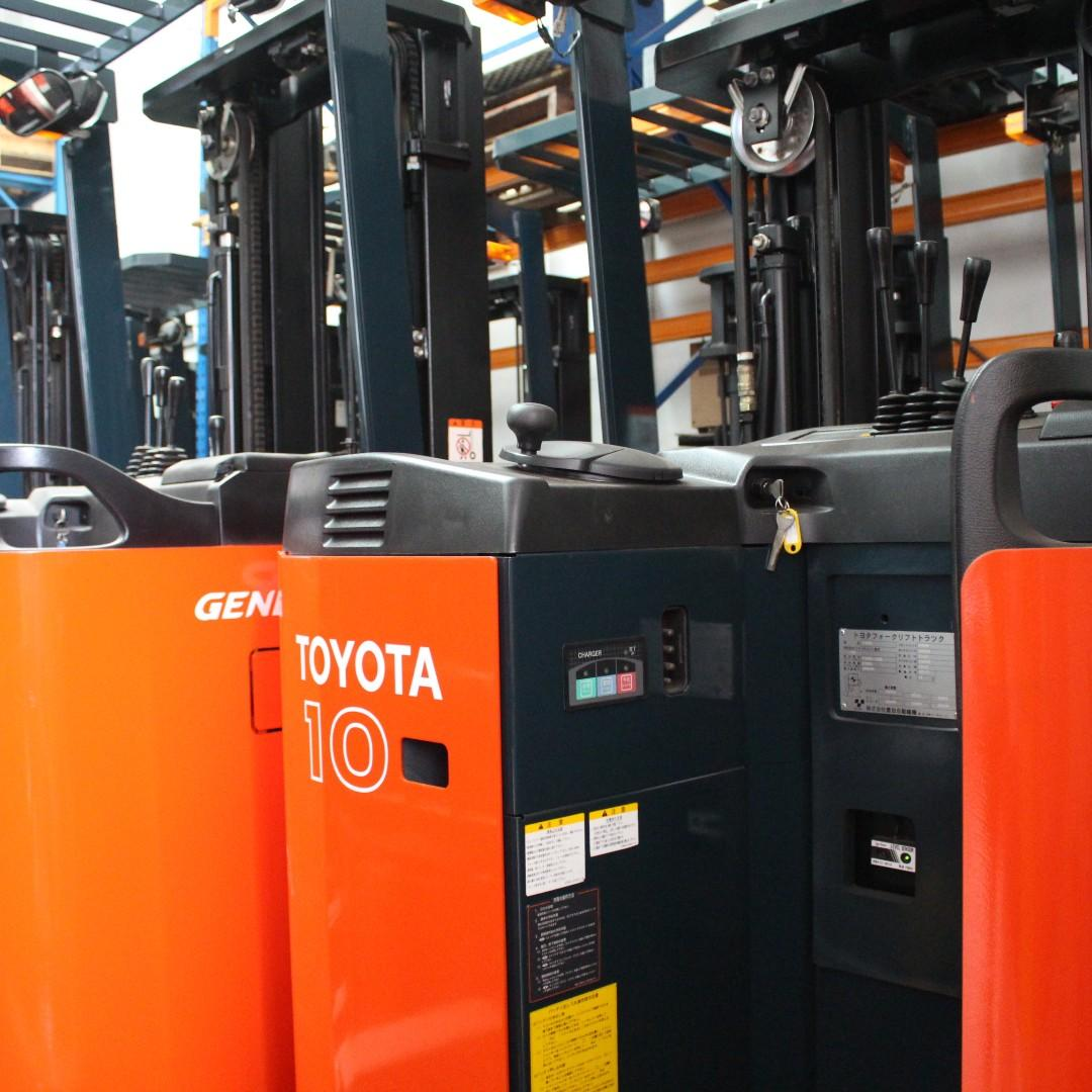 Toyota Electric Powered Reach Truck