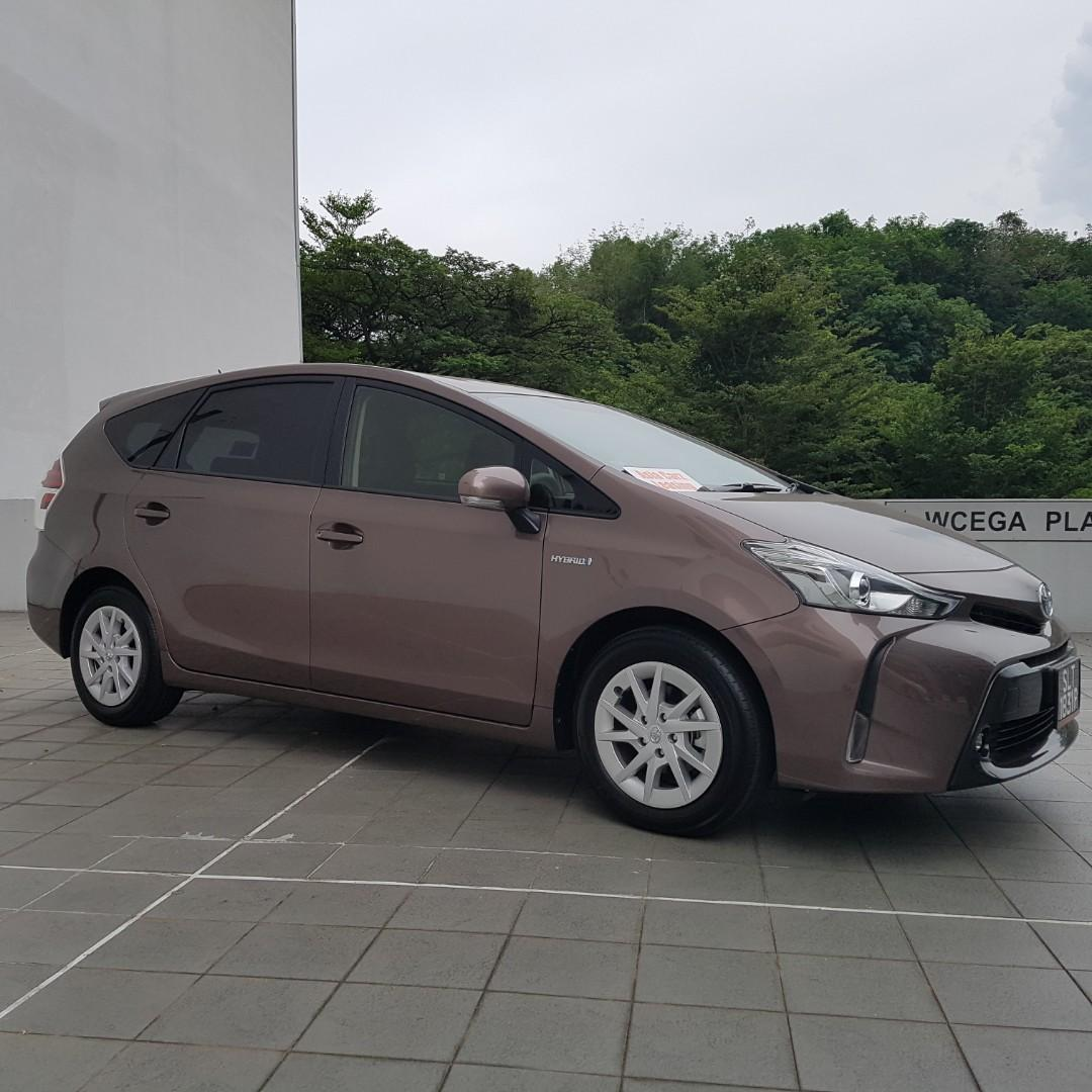 Toyota Prius Alpha Hybrid For Rent Bulletin Board Announcements