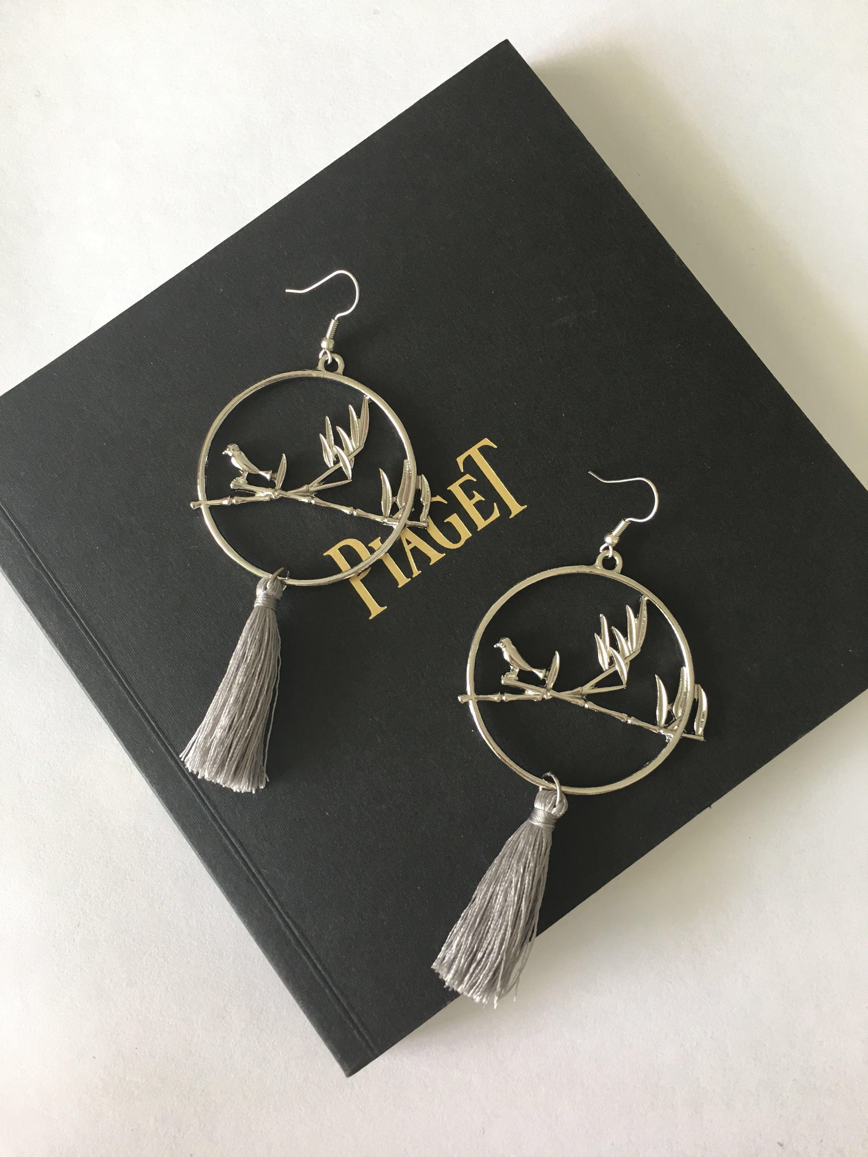 9c9e07201ea traditional asian style tassel Earrings Oriental chongsam Qi pao ear ...