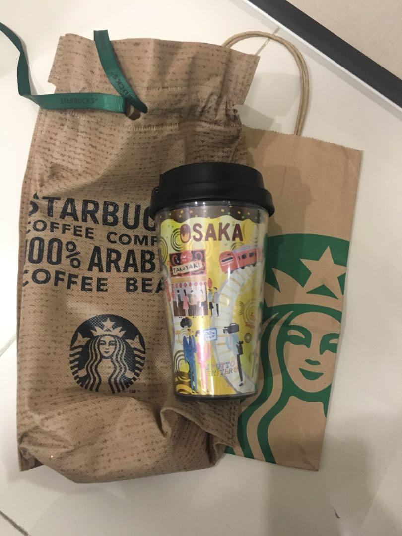 Tumbler Starbucks CITY OSAKA JAPAN