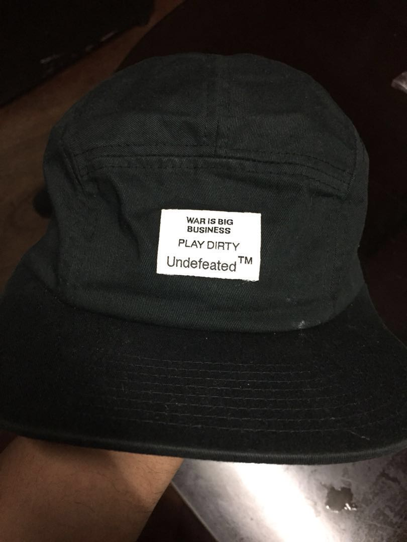 c58b7206 UNDFTD 5 PANEL HAT, Men's Fashion, Accessories, Caps & Hats on Carousell