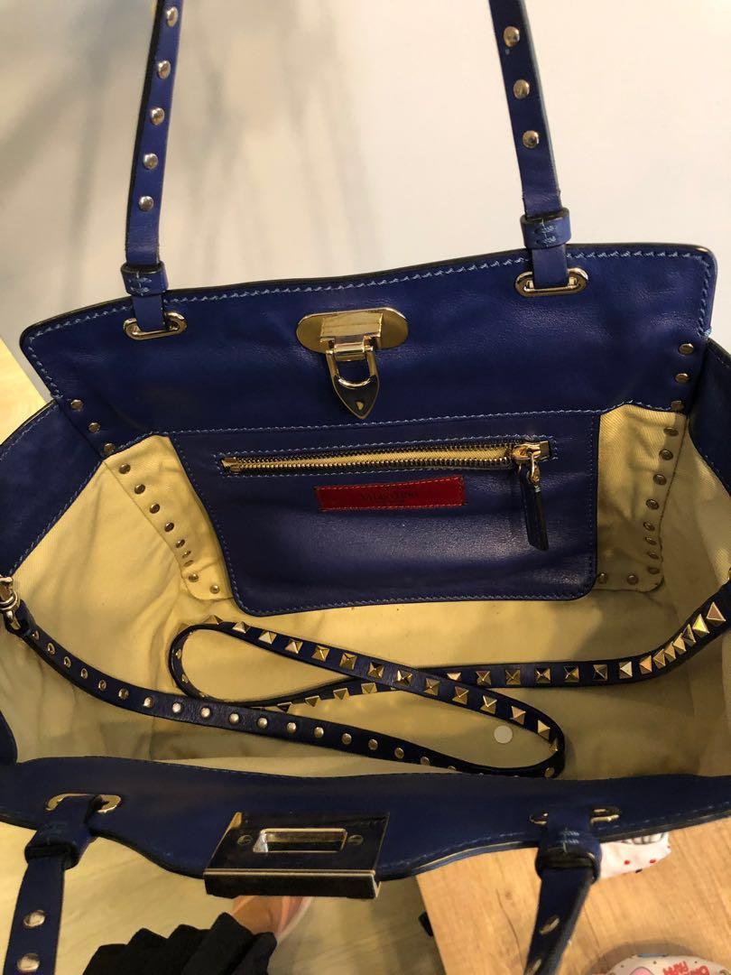 Valentino rockstud bag (Medium - Electric blue)