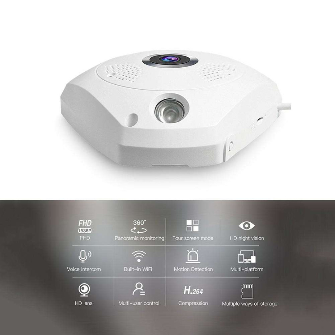 Vstarcam 360 Panoramic IP Camera - Multiple, Electronics