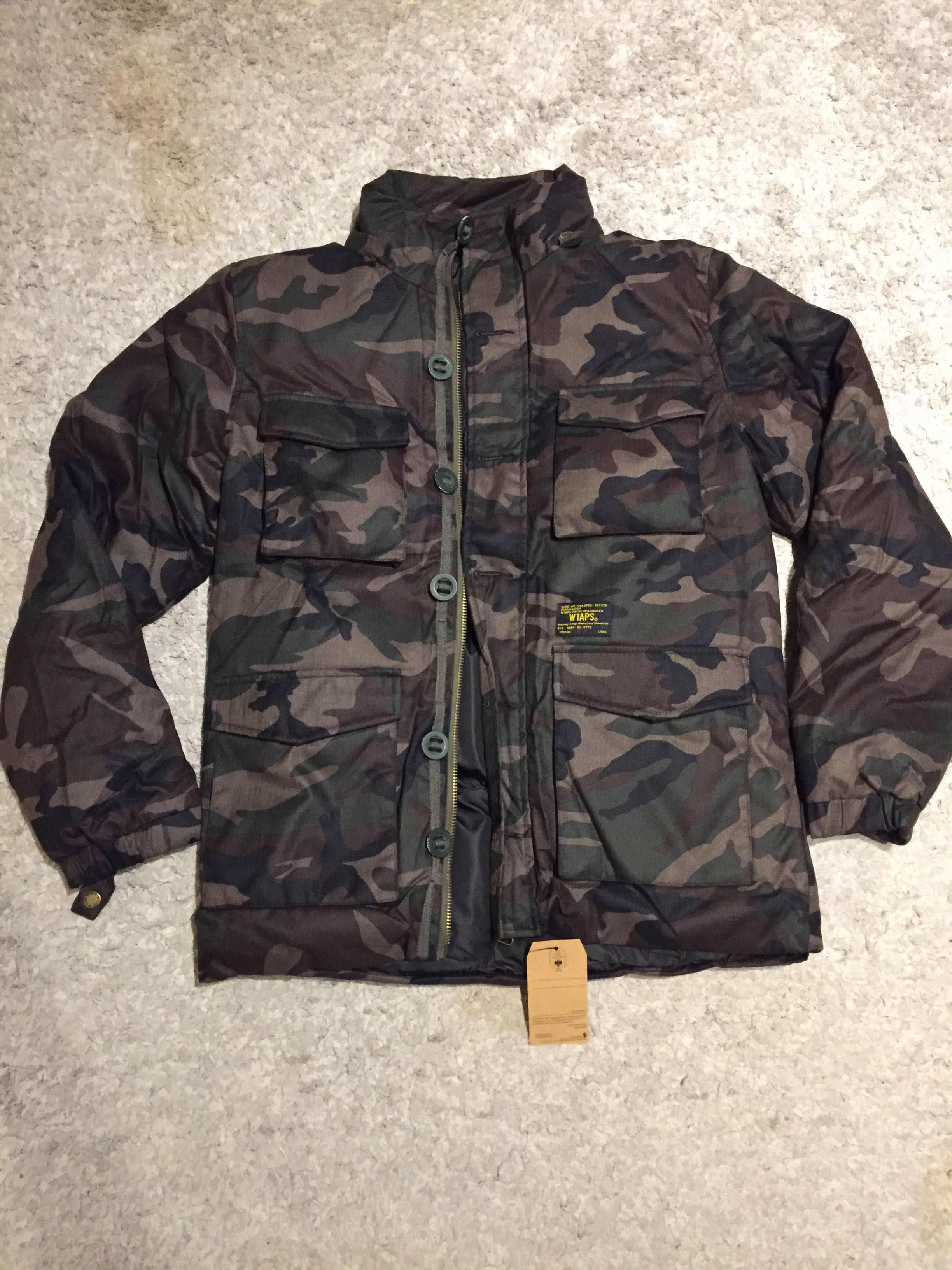 e10536f257d8b WTAPS camo military winter jacket, Men's Fashion, Clothes, Tops on ...